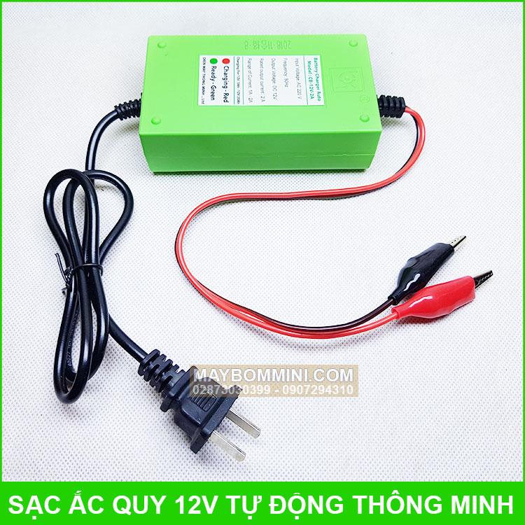 Sac Binh 12v Tu Dong Gia Re