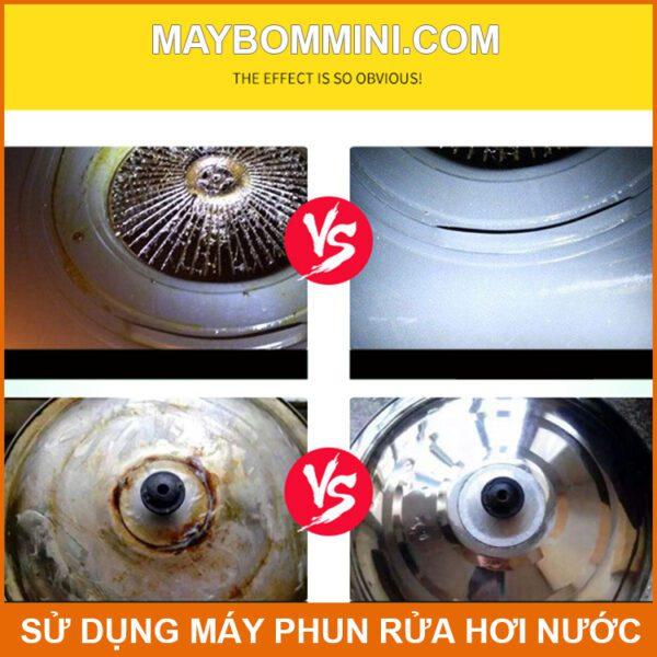 Su Dung May Phun Xit Rua Bang Hoi Nuoc 1800w