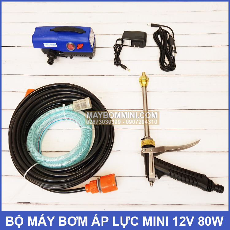 Tron Bo May Rua Xe Mini 12v 80w Maxpumps