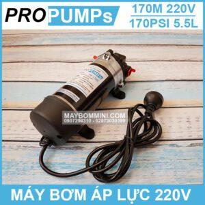 Bom Ap Luc Mini 220V Chinh Hang