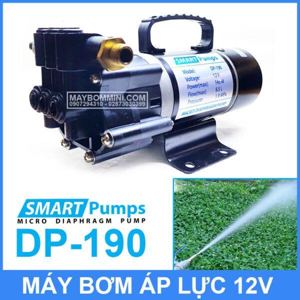 Bom Nuoc Mini 12V 145W Smartpumpp DP 190