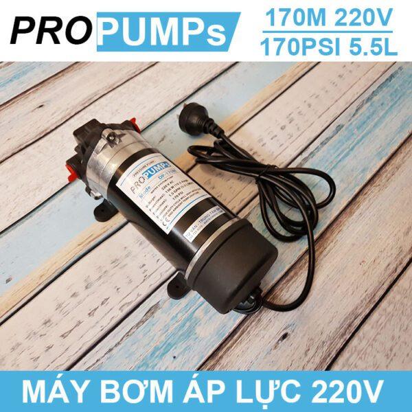 Bom Nuoc Mini Ap Luc 170M 220V