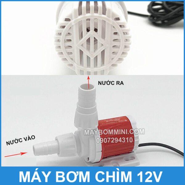 Hoat Dong Bom Chim 12v Mini Gia Re