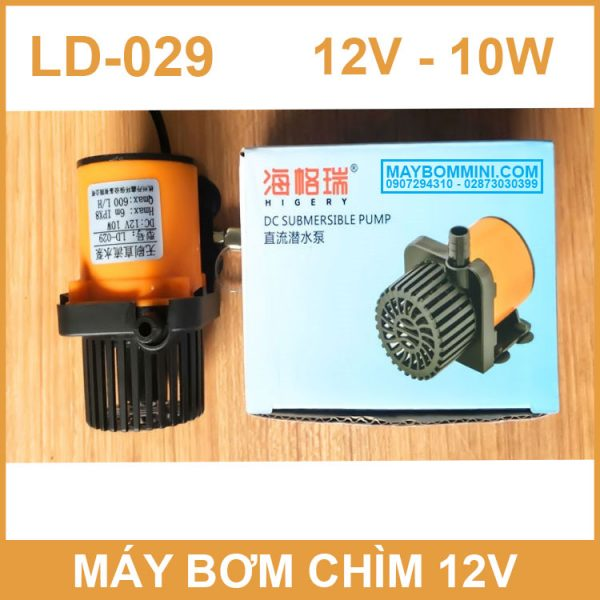Hop May Bom Nuoc Mini LD 029