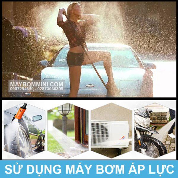 Su Dung May Bom Ap Luc 220v 170m