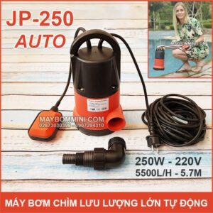 May Bom Chim Luu Luong Lon 220v JP 250