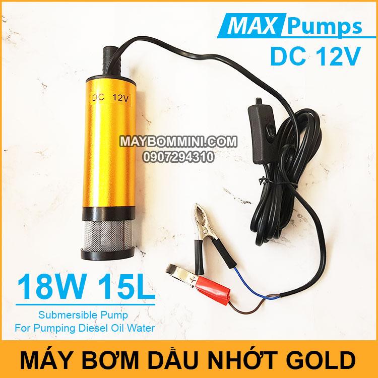 May Bom Dau Nhot 12V 15L DO GOLD