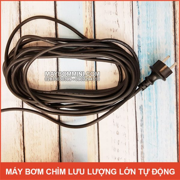 Day Nguon May Bom Nuoc Tha Chim 220v