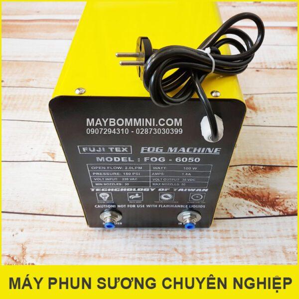 Dau Noi Ong Phun Suong Chuyen Nghiep