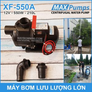 May Bom Luu Luong Lon 12V 220L 550A MAXPUMS Chinh Hang