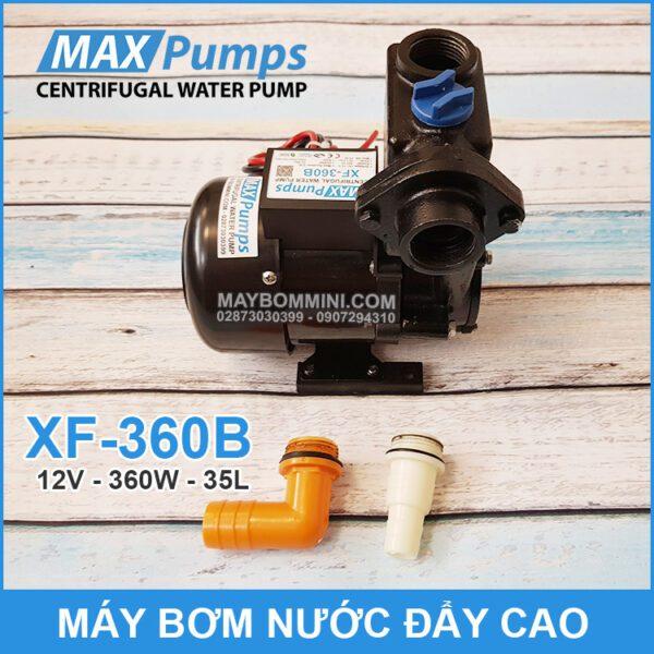Bom Nuoc Mini Day Cao 12v XF 360B