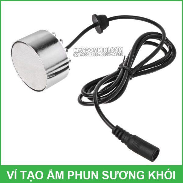 Dau Phun Khoi Mini 24v 1 Mat Gia Re