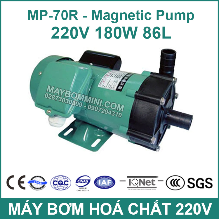 May Bom Hoa Chat Chong An Mon 220V 70R