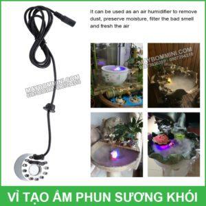 Su Dung May Phun Suong Tao Khoi