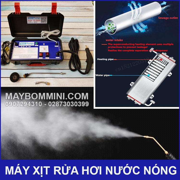 Su Dung May Xit Rua Bang Hoi Nuoc Nong