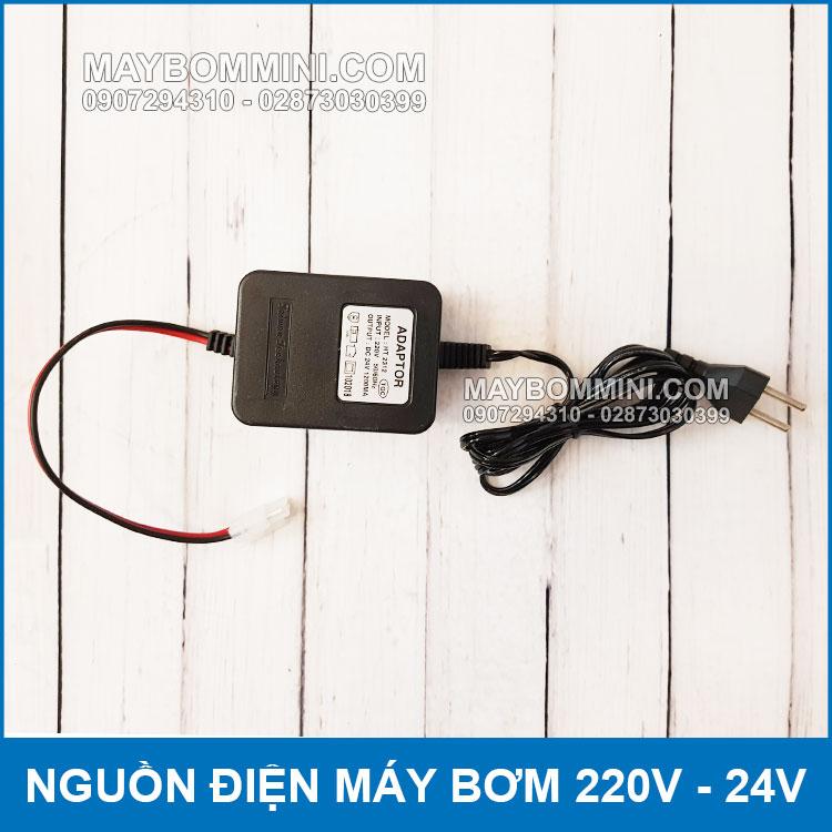 Ban Adaptor 220V Ra 24v Cho May Phun Suong