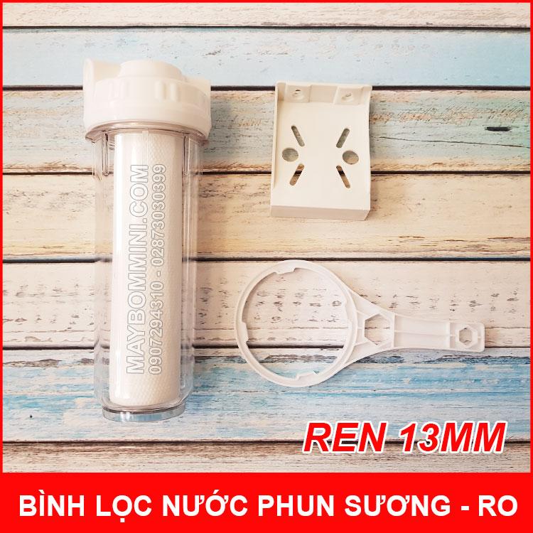 Binh Loc Nuoc Phun Suong RO 10in Ren 13mmm