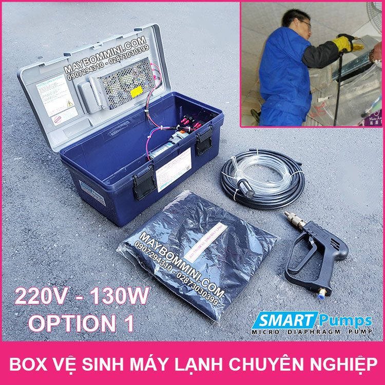 Box Ve Sinh May Lanh 220V 130W Option 1