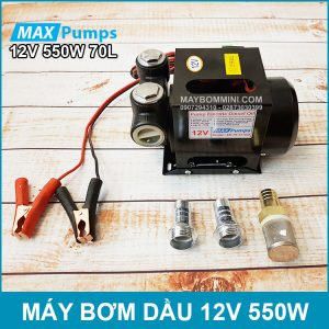 May Bom Dau 12V 550W 70L Maxpumps