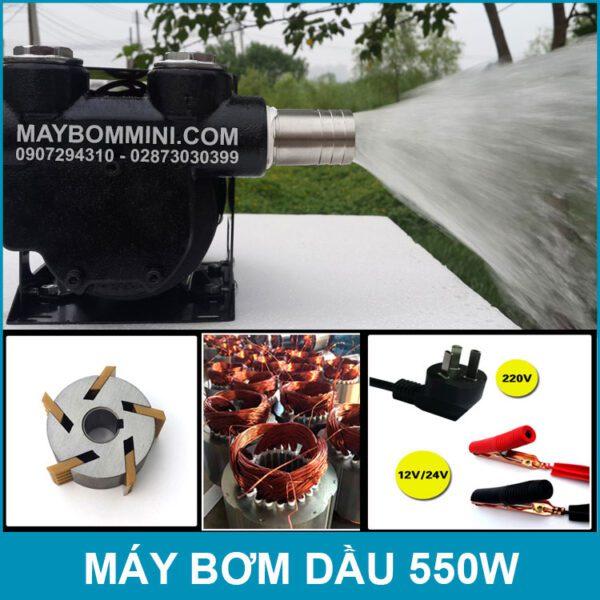 May Bom Day Chinh Hang 550W