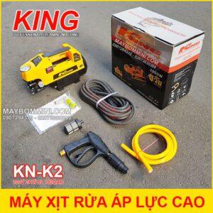 May Rua Xe Ap Luc Cao 220V 2000W 9L 180bar King