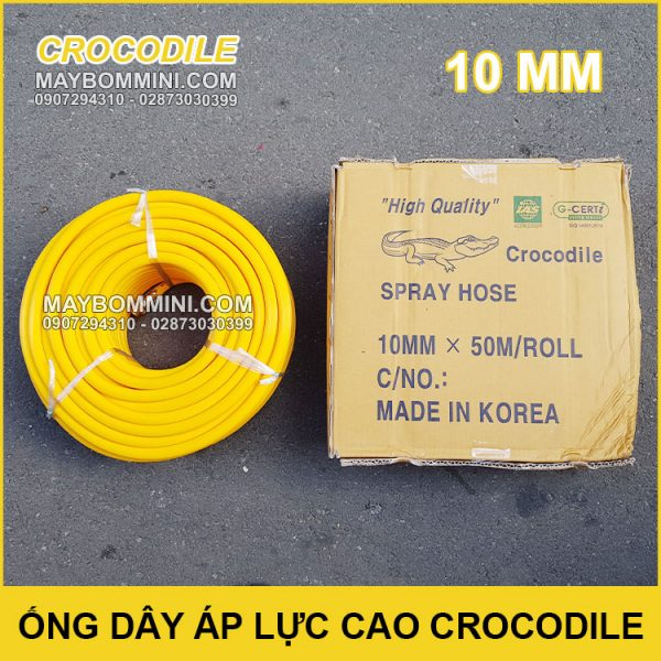 Ong Day Ap Luc Cao Crocodile 10mm Chinh Hang Korea