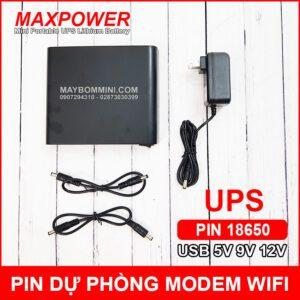 Ban Pin Sac Ups Cho Wifi Modem Khoa Cua Box Tivi