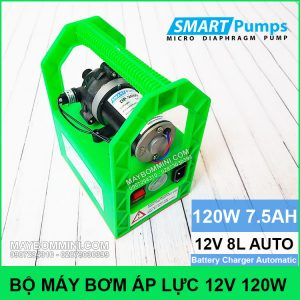 Bo May Bom Ap Luc Mini 12V 120W Tien Loi