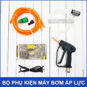 Bo Phu Kien May Bom Ap Luc Mini Kep