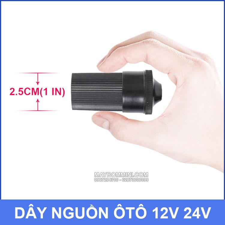 Dau Cam Nguon Duoi Cai 12v 24v