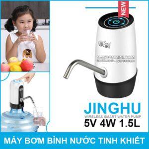 May Bom Binh Nuoc Khoan Tinh Khiet Jinghu 1905 5V 4W
