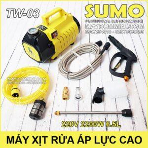 May Rua Xe Ap Luc Cao 220V 2200W 6L 80bar Sumo TW 03