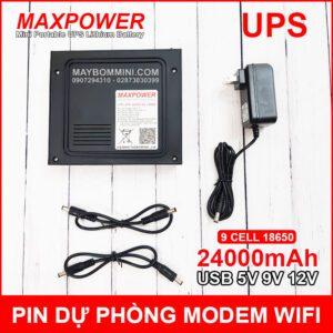 UPS 24000mah 5V 9V 12V