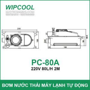 Kich Thuoc May Wipcool PC 80A