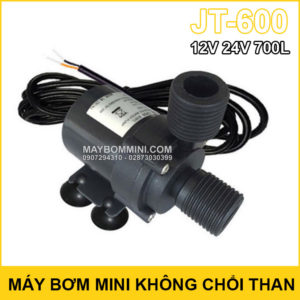 May Bom Mini Khong Choi Than 12v 24v 700L JT 600