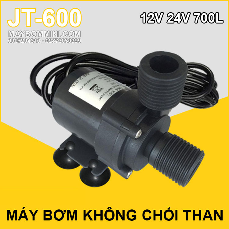 May Bom Mini Khong Choi Than 24v JT 600