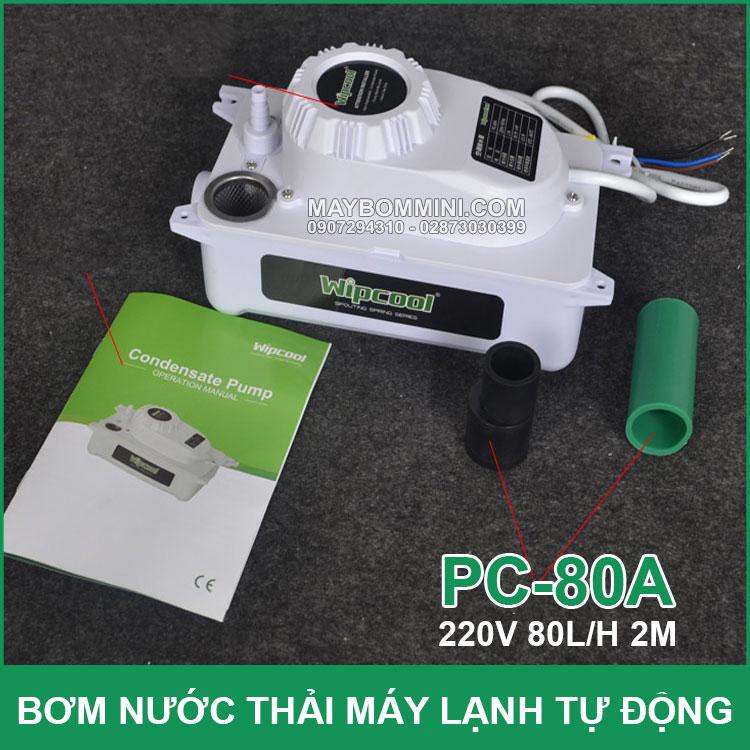 May Bom Nuoc May Lanh May Dieu Hoa Wipcool PC A80