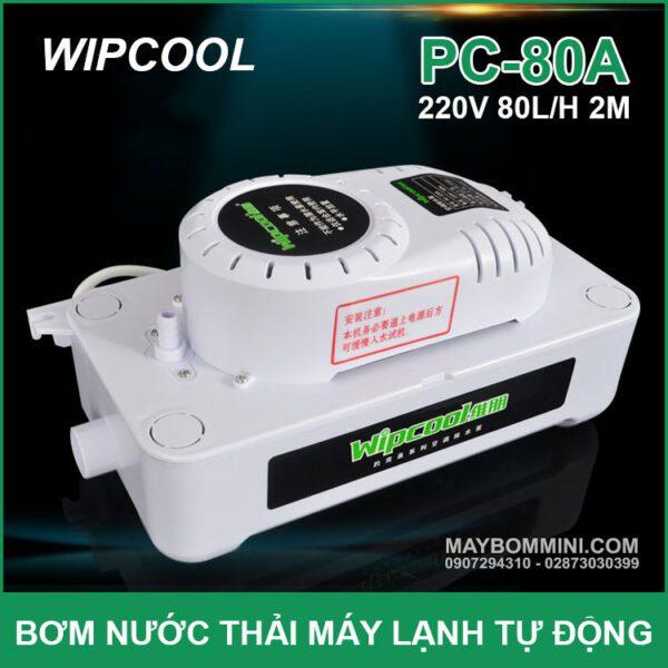 May Bom Nuoc Thai May Lanh Tu Dong Wipcool PC 80A