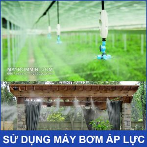 May Bom Phun Suong Tuoi Cay Lam Mat