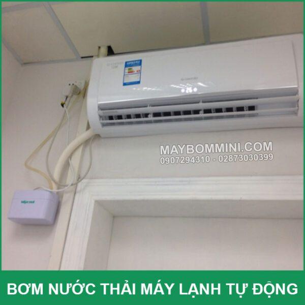 Su Dung Bom Nuoc Thai May Lanh May Dieu Hoa