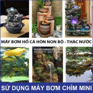 Su Dung May Bom Chim Mini HG 320