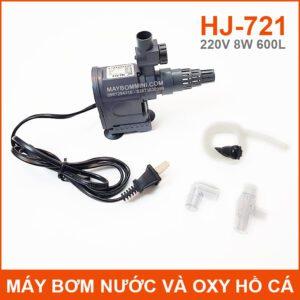 May Bom Ho Ca Va Oxy Loc Nuoc 220V 8W 600L HJ 721