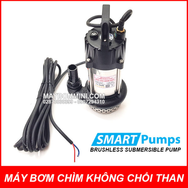 BRUSHLESS SUBMERSIBLE PUMP 24V 400W