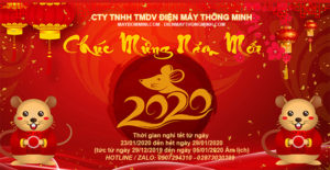 May Bom Mini Chuc Mung Nam Moi 2020