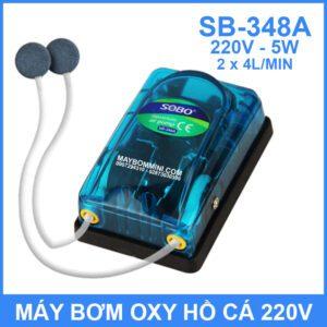 May Bom Oxy 220V 5W 8L SB 348A