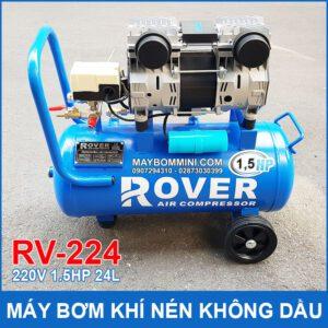 May Bom Hoi Khi Nen Khong Dau 220V 1125w 24L RV224 Rover